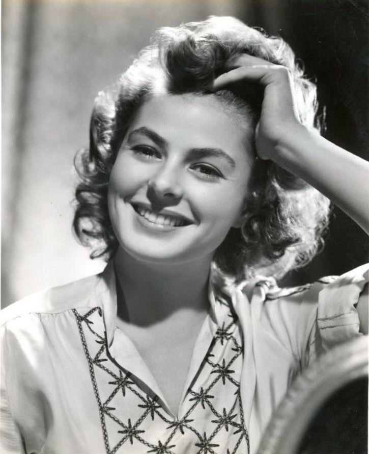 Resultado de imagen para DIVAS de hollywood Ingrid Bergman
