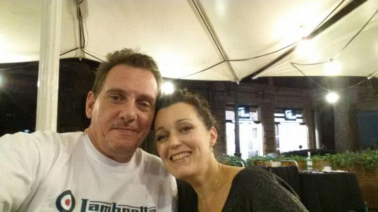 Me and deb in barcelona.