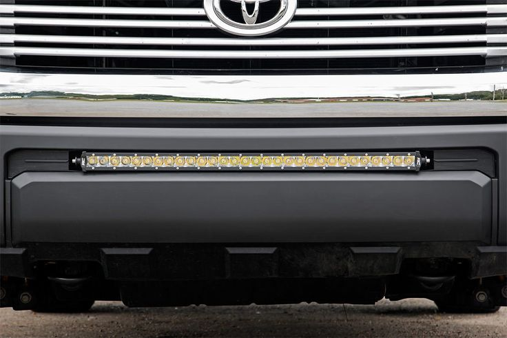 This all-inclusive lighting kit fits perfectly into the factory opening on Toyota Tundras, housing a 30-inch LED Light bar for impressive lighting power.