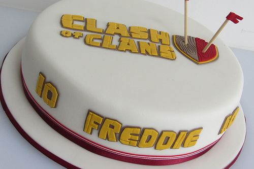 View FullSize Photo Find More Clash Of Clans Cake Pictures