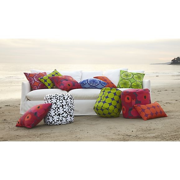 Marimekko Pienet Kivet Outdoor Bean Bag @ Crate and Barrel