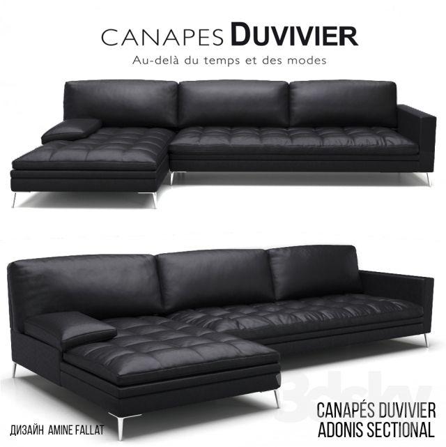Canapés Duvivier ADONIS SECTIONAL
