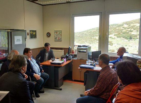 10-04-17 Επίσκεψη του Υφυπουργού Δημήτρη Μπαξεβανάκη στις Σχολικές μονάδες Ειδικής Αγωγής και Εκπαίδευσης στο ΙΝΑΑ Πεύκων Κεντρικής Μακεδονίας    10-04-17 Επίσκεψη του  Υφυπουργού Δημήτρη Μπαξεβανάκη στις Σχολικές μονάδες Ειδικής Αγωγής και  Εκπαίδευσης στο ΙΝΑΑ Πεύκων Κεντρικής ΜακεδονίαςΤις σχολικές μονάδες Ειδικής Αγωγής  και Εκπαίδευσης που στεγάζονται στο ΙΝΑΑ Πεύκων επισκέφθηκε την  Παρασκευή 7 Απριλίου ο Υφυπουργός Παιδείας Έρευνας και Θρησκευμάτων  Δημήτρης Μπαξεβανάκης συνοδευόμενος…