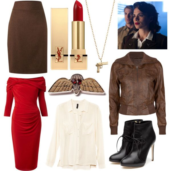 """""""Peggy Carter"""" by baptisms on Polyvore"""