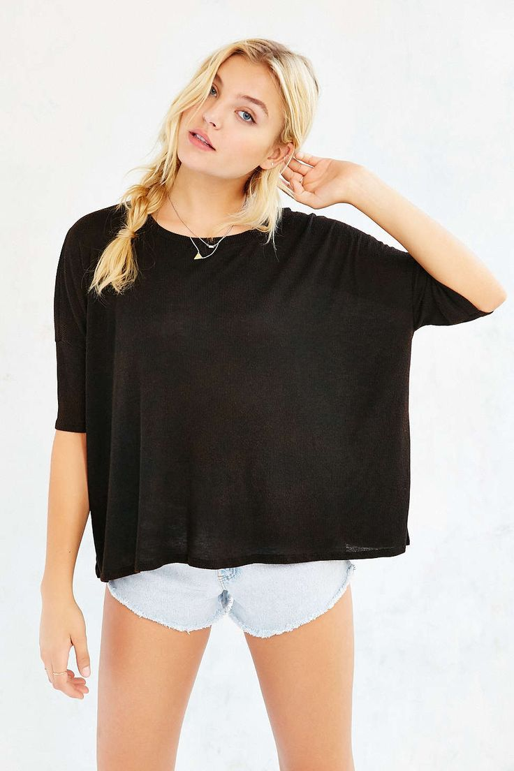 Project Social T Washed-Away Dolman Top