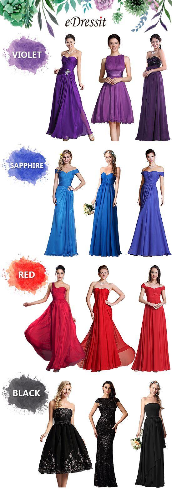 robe de demoiselle d'honneur en solde sur le site eDressit!!! #eDressit #robe…