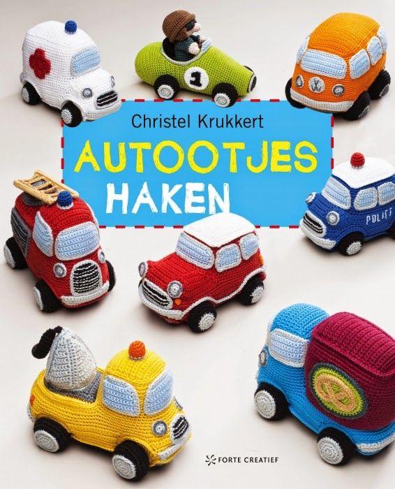 Coches de ganchillo - Cars crochet - Autootjes Haken