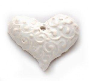 Handmade porcelain jewellry components  http://artisancomponentmarketplace.com/trollsmed/