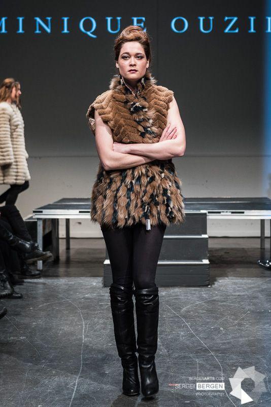 Recycled Fur Coat Designer: Domnique Ouzilleau Photographer: Seirgei Bergen Model: Raphaëlle