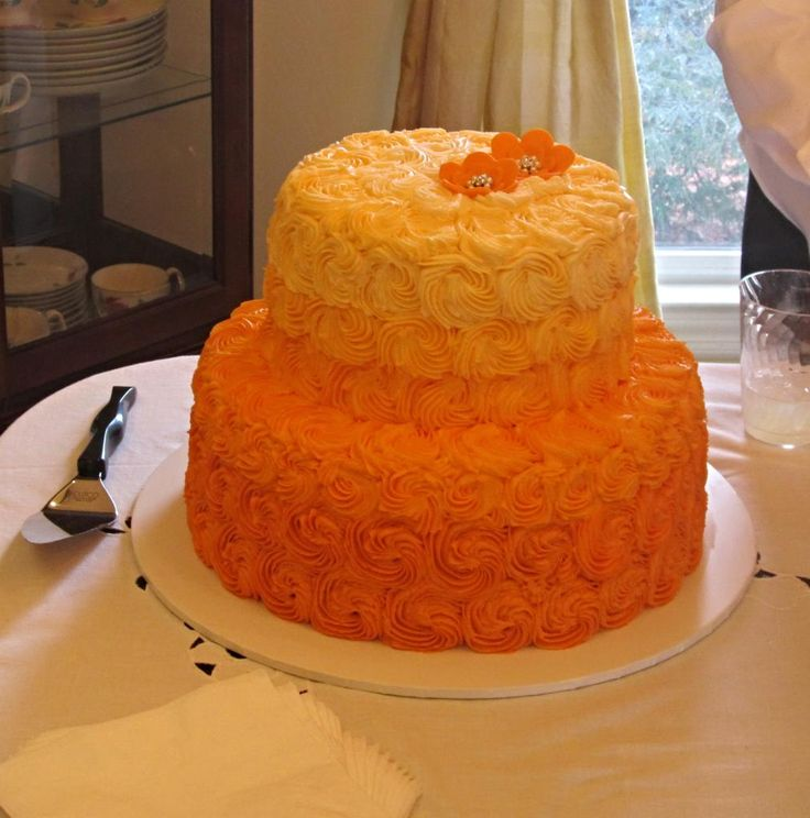 Fall Bridal Shower Cakes