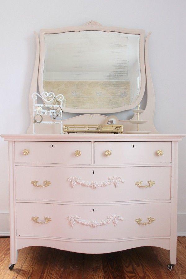 25 best ideas about Pink dresser on Pinterest