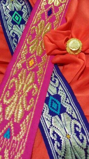 Songket handwoven belt from Bali, Indonesia #Songket #Bali #Handwoven #VisitIndonesia