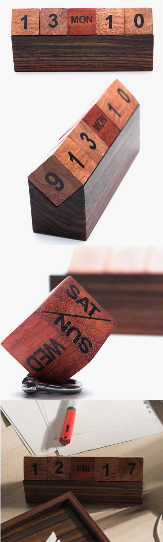 Office supplies news reviews and more make diy projects and ideas - Wooden Cubes Perpetual Calendar More Wooden Calendarwoodworking Supplieswooden Cubesperpetual Calendaroffice Giftscedar Woodoffice Suppliesdiy Ideasdiy