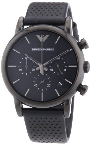 Emporio Armani Classic Chronograph Black Dial Black Leather Mens Watch AR1737 Emporio Armani http://www.amazon.com/dp/B00E491908/ref=cm_sw_r_pi_dp_9-qXvb0EPQ9TK