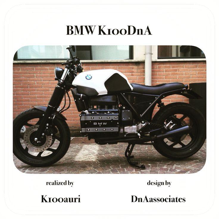 #bmw #k100 by k100auri & #dnaassociates #scrambler #caferacer #special #customized #tuning