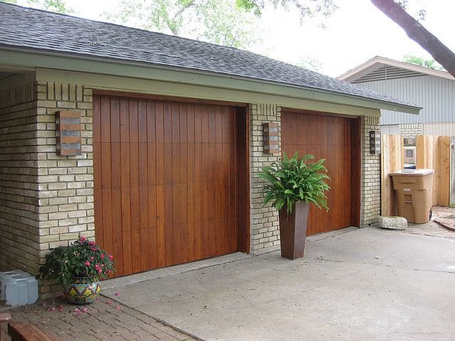 Modern Garage Doors | Contemporary Cedar Garage Doors | Flickr - Photo Sharing!