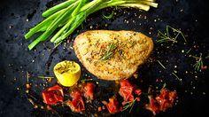 Frischer Fisch vom Grill: Marinierte Thunfischsteaks