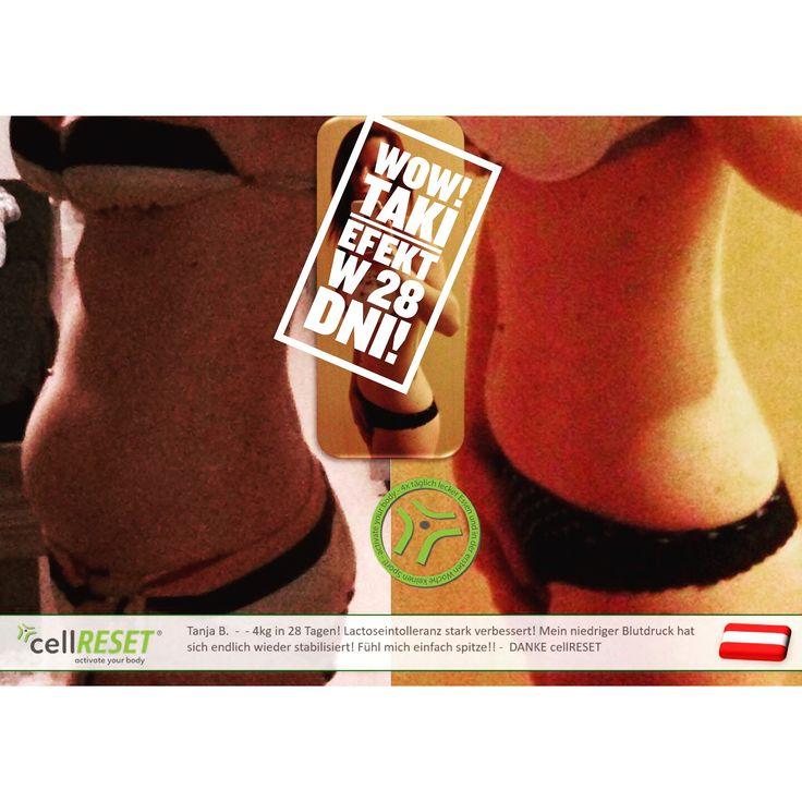 Wow! Mamy efekty ;) #cellreset #fitline #wowteam