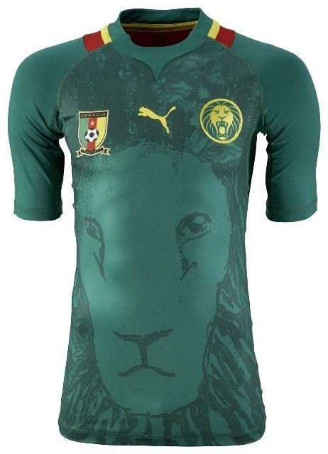 Cameroon (Fédération Camerounaise de Football) - 2012 Africa Cup of Nations Puma Home Shirt