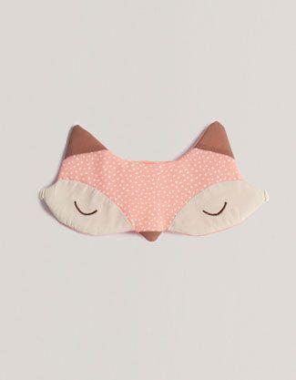 Inspireras av snygg räv-sovmask att hålla ute ljusa sommarnätter med och sy en själv.