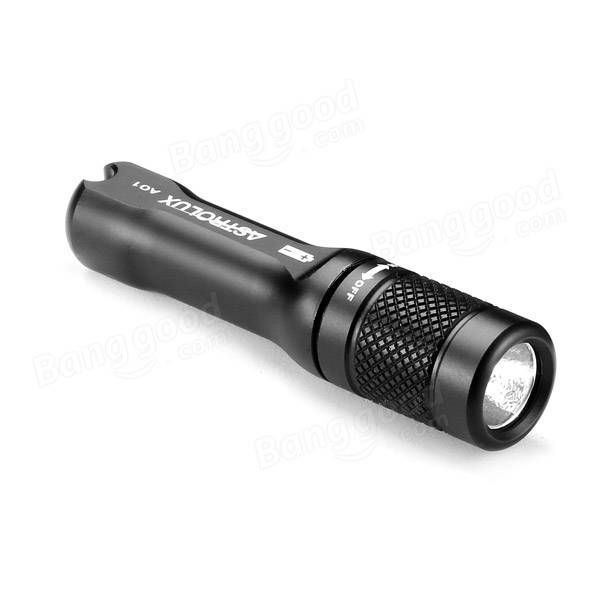 Astrolux A01 Nichia 219B 102LM AAA Mini Waterproof Keychain EDC LED Flashlight