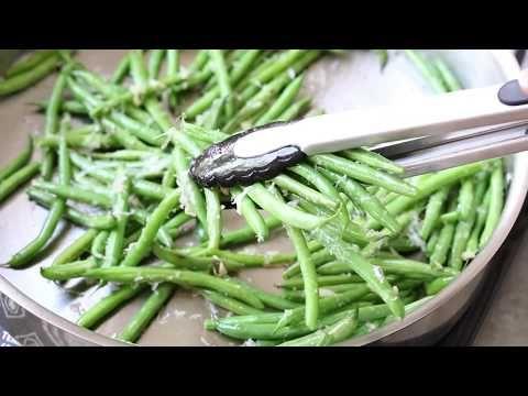 Skillet Parmesan Green Beans + Recipe Video - Kristine's Kitchen