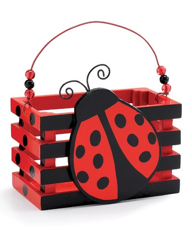 Take a look at this Ladybug Crate by burton + BURTON on #zulily today!