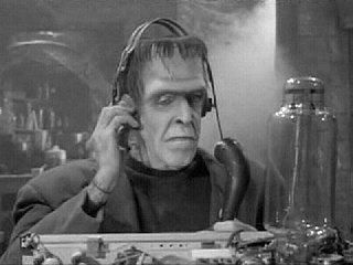 Gotta love Herman Munster when he's on the air. :)