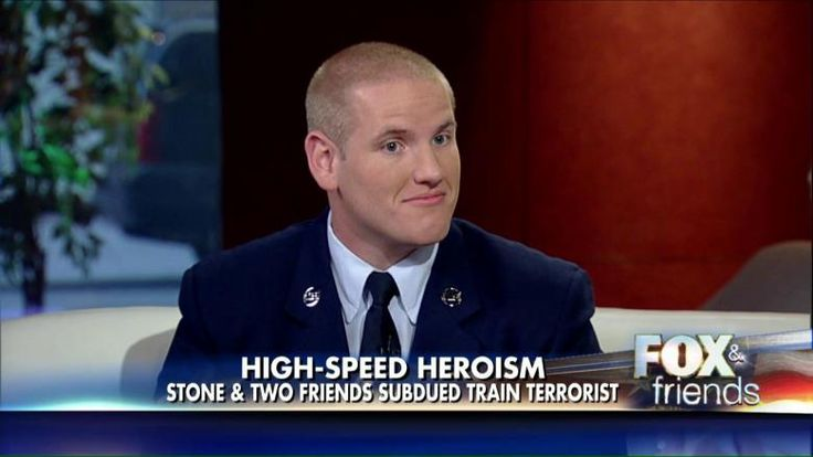 """#FoxNews  ...... """"I would rather die trying to stop something like that than walk away and let everybody else get killed,"""" Airman 1st Class Spencer Stone said on 'Fox & Friends.""""  .....  http://insider.foxnews.com/2015/09/14/purple-heart-be-awarded-us-airman-spencer-stone-who-stopped-france-terror-attack"""