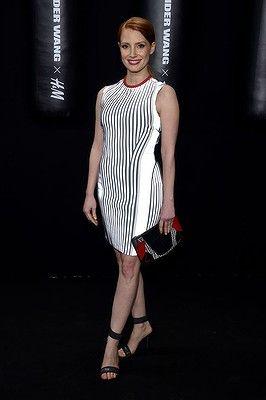 Actor Jessica Chastain #AlexanderWangxHM