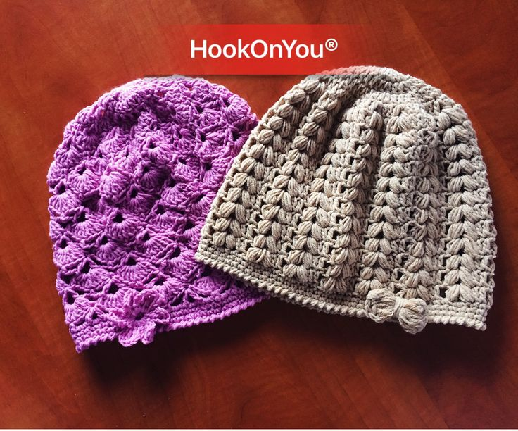"""New addition to my """"beanies repertoire""""!! In love with the finish look and the amazing cotton yarn from Alize!!! For purchase/info DM 😉 Happy Sunday crocheters!! #alize #hookonyou #handmadewithlove"""