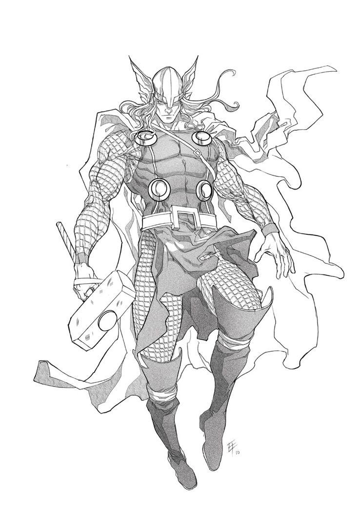 Thor by ~erufan on deviantART