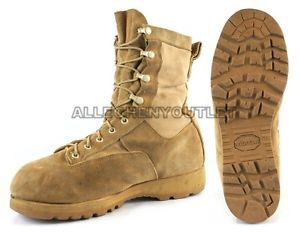 a para hombre us military goretex icb botas de combate de infanteria 790 tan usa made talla 6 15 en muy buena condicion