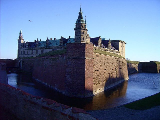 Kronborg Slot (Denmark). fabulous 16th-century castle in  Helsingør, made famous as the Elsinore  Castle of Shakespeare's Hamlet. It's the venue for summer performances of  Shakespeare's play during the Hamlet festival.' http://www.lonelyplanet.com/denmark/zealand/helsingor-elsinore/sights/castle/kronborg-slot-royal