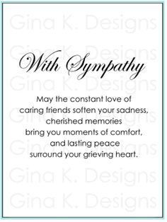 Best 25+ Sympathy card messages ideas on Pinterest | Sympathy card ...