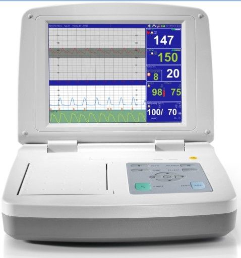 MCF-21K (Mars K Series)  Fetal Monitor(CTG Machine) 10.4 inches