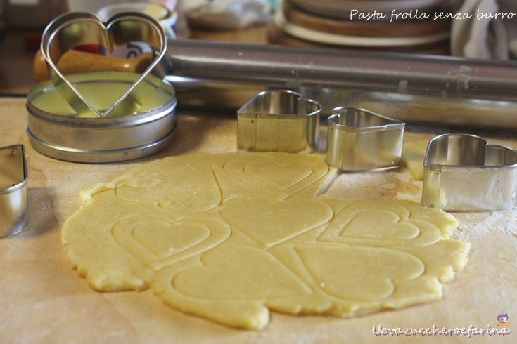 Pasta+frolla+senza+burro