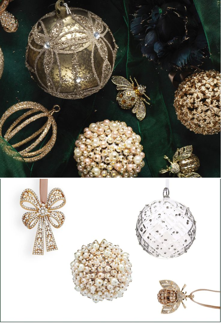 Luxury Christmas Baubles - Luxury Christmas designs and inspiration from Luxdeco. Injecting Festive glamour into the home.