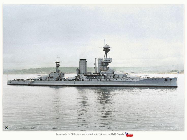 Acorazado Almirante Latorre de la Armada de Chile / Chilean Navy battleship Admiral Latorre