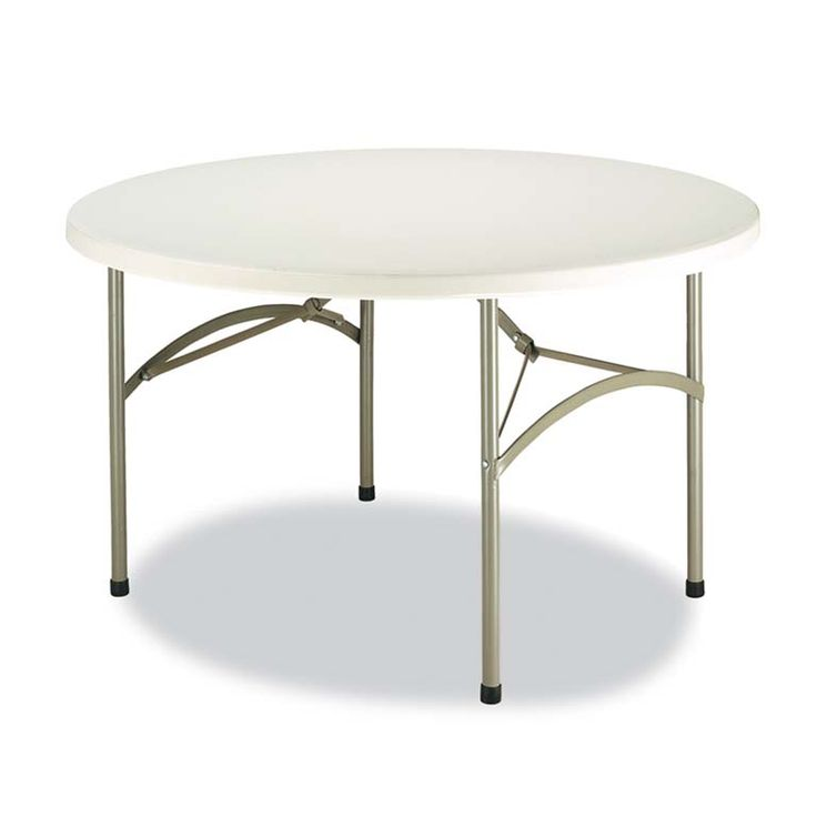Mesa redonda plegable 180 cm – Alquileres Kava – decoracion para eventos
