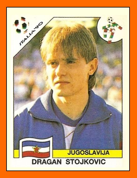 Old School Panini: Dragan STOJKOVIC