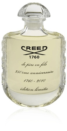 Creed perfume, green daffodil, iris and musk