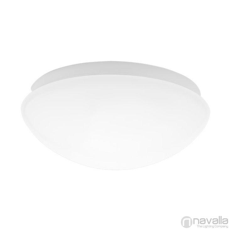 PIRES - Kanlux 19001 - Aplice/Plafonieră - alb 1xE27 max. 60W d277x110 mm [KANLUX-19001] - 87 RON