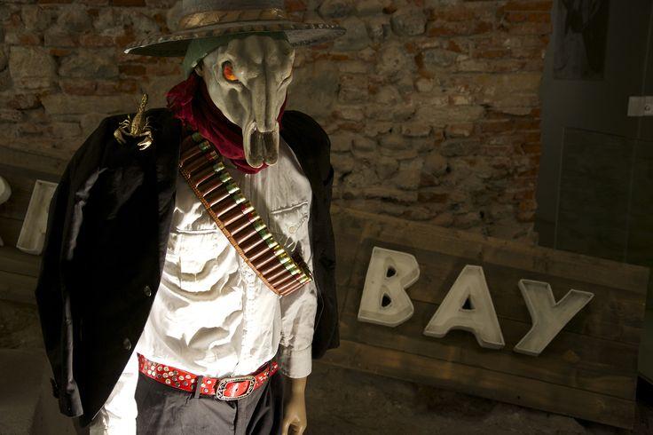 Il Bandido Escorpion! Cappello e maschera a cura di Fabrizio Galli!