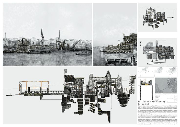 Bustler: Winners of 2012 ISARCH Awards| Honorable Mention: Saliferous Monastery, Istanbul, Patrick Hamdy