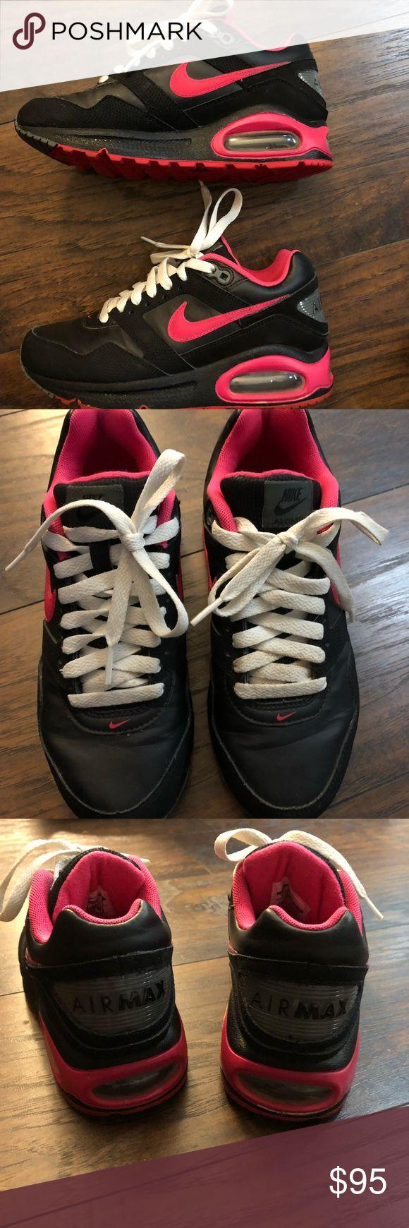 Women's Nike AirMax Worn once. Slight scuff mark on back
