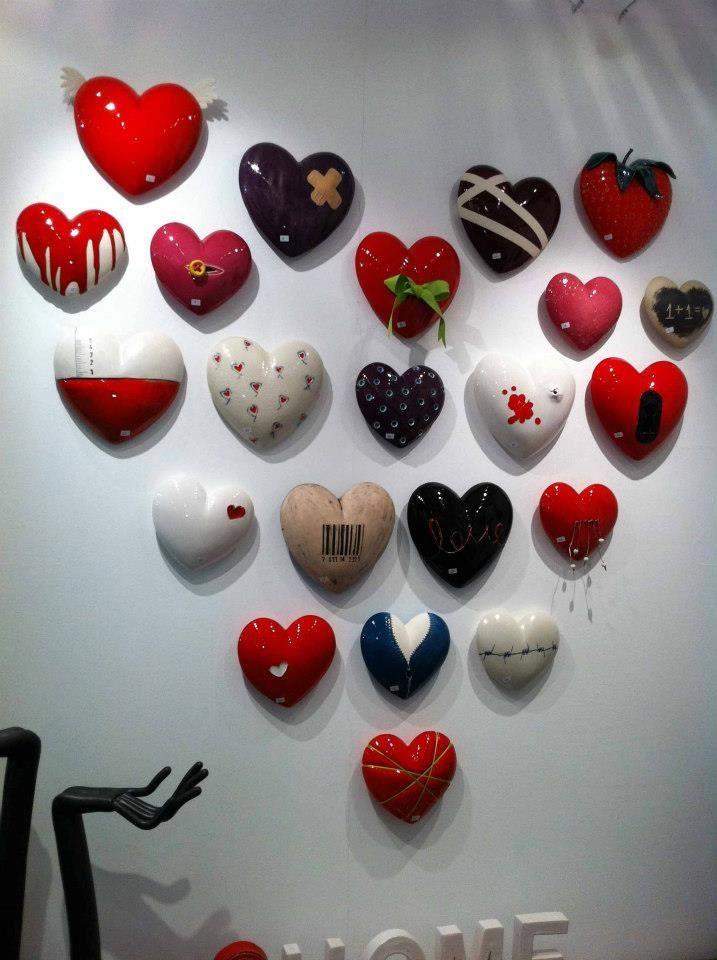 Beautiful ceramic hearts!!!