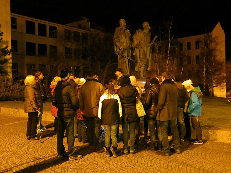 Guided tour: Monument of Tycho Brahe and Johannes Kepler in Prague, Czech Republic