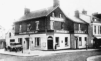 Railway Hotel Holmesdale Road Reigate date unknown