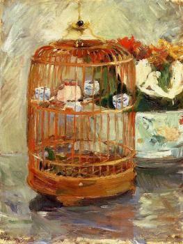 The Cage - Berthe Morisot - The Athenaeum